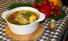 Supă de tacâm cu găluște de gris