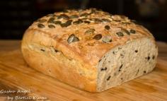 Pâine de secară cu măsline
