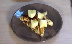 Sandviș cald cu banane și ciocolată