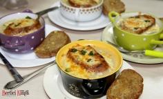 Supă franțuzească de ceapă