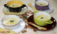 Supă cremă de năut și alune