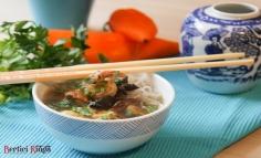 Supă chinezească de argint