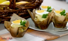 Maffin cu spanac