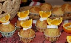 Maffin cu portocale