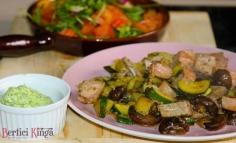 Salată caldă cu ton