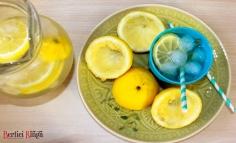 Limonadă cu cimbru și lămâie