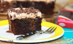 Prăjitură cu Guinness și ciocolată