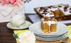 Prăjitură cu cartofi dulci și caramel
